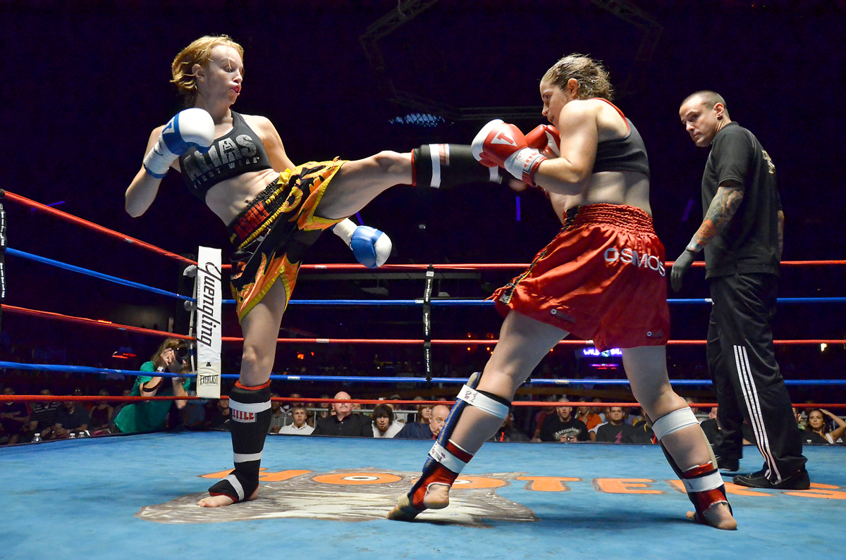List of female kickboxers - Wikipedia