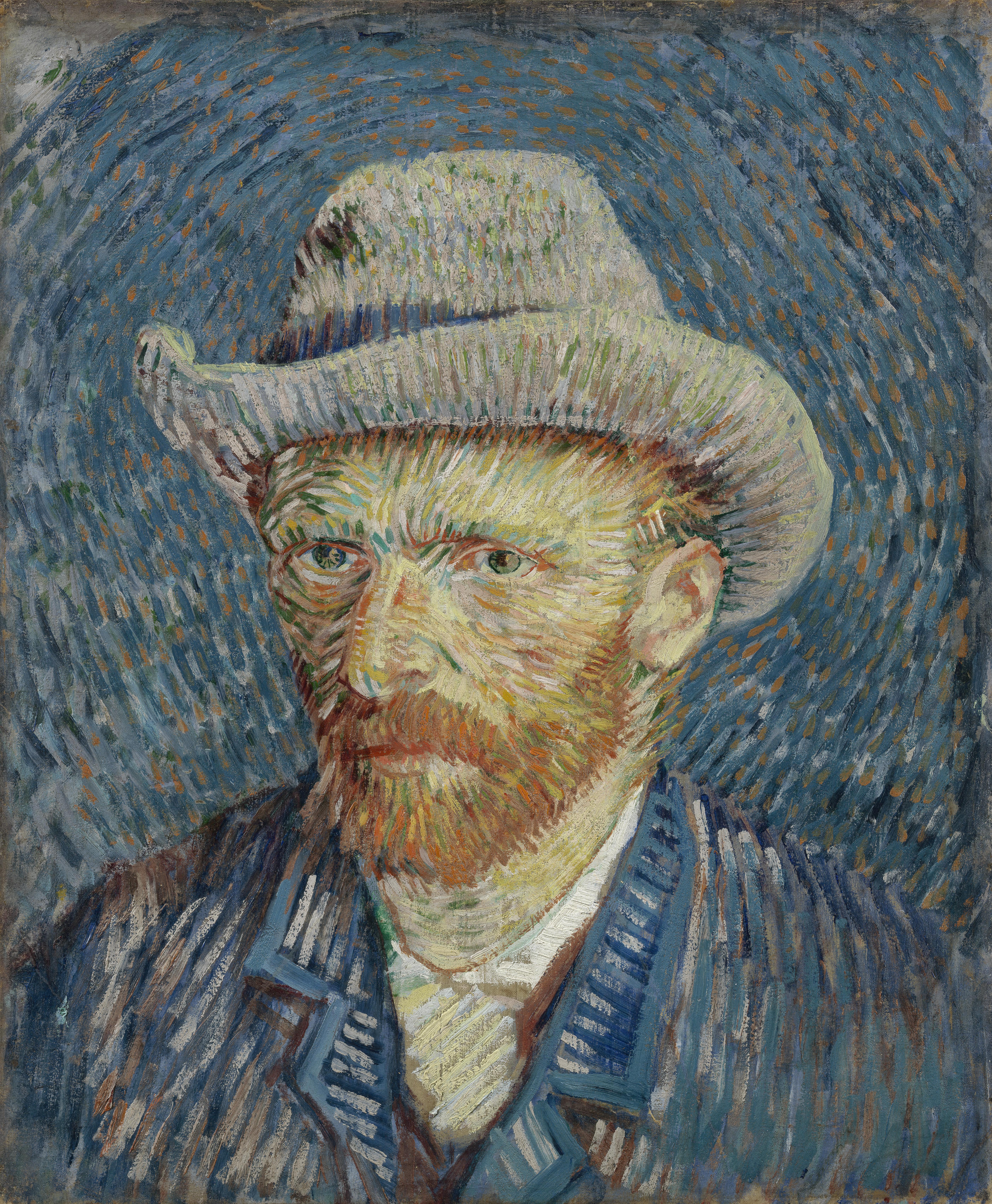 zelfportret van gogh 1887