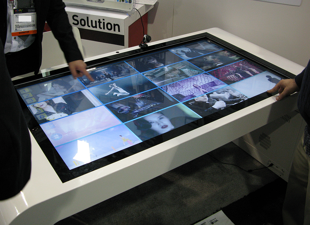 File Zoom Digital Signage Multi Touch Table Png