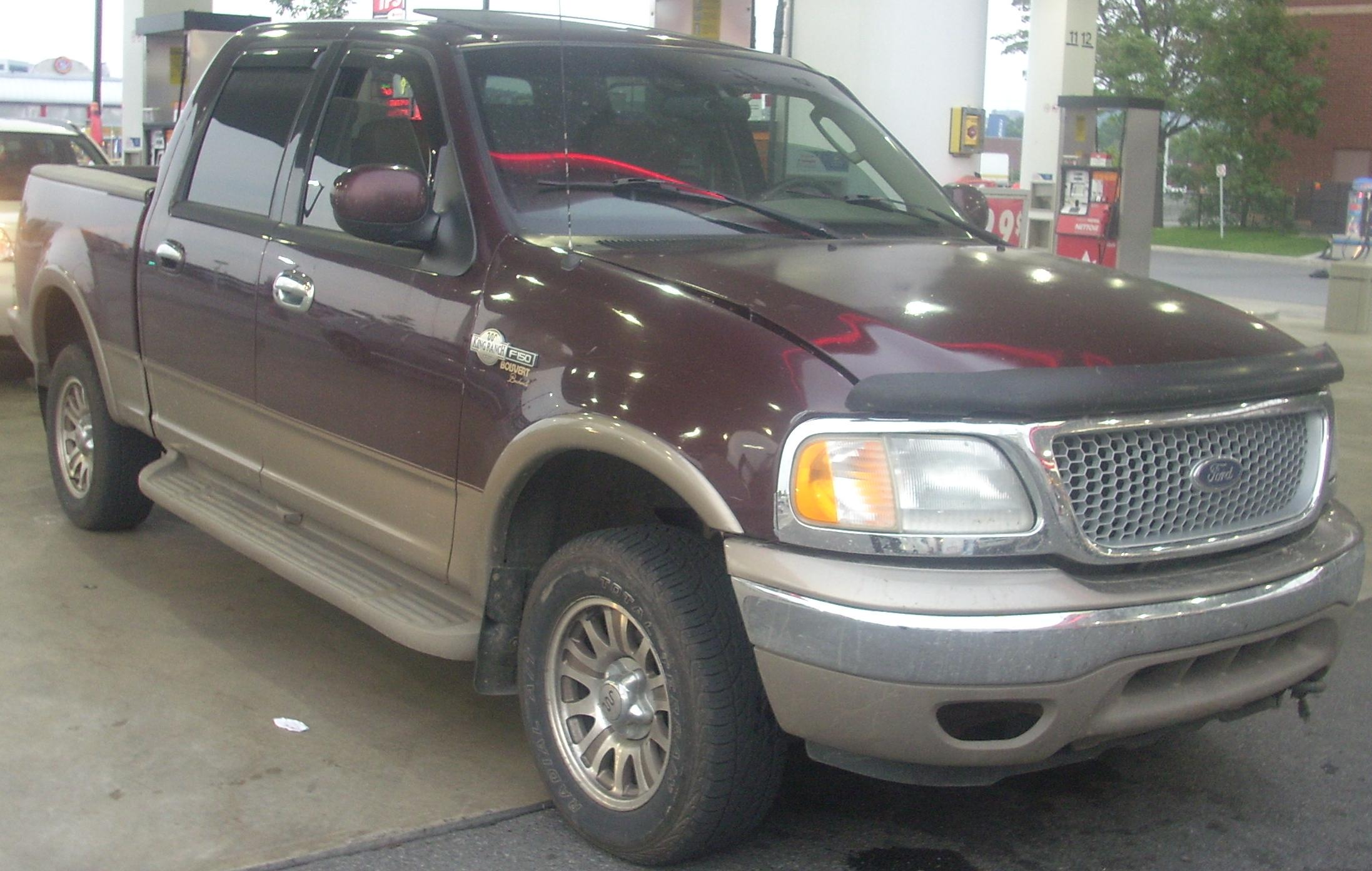 Ford F150 King Ranch >> File:'01-'03 Ford F-150 King Ranch.jpg - Wikimedia Commons