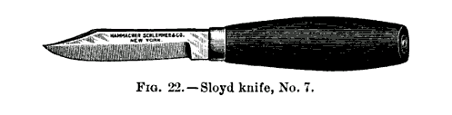 19th century knowledge carpentry and woodworking sloyd knife - Best Of Best Carving Knives