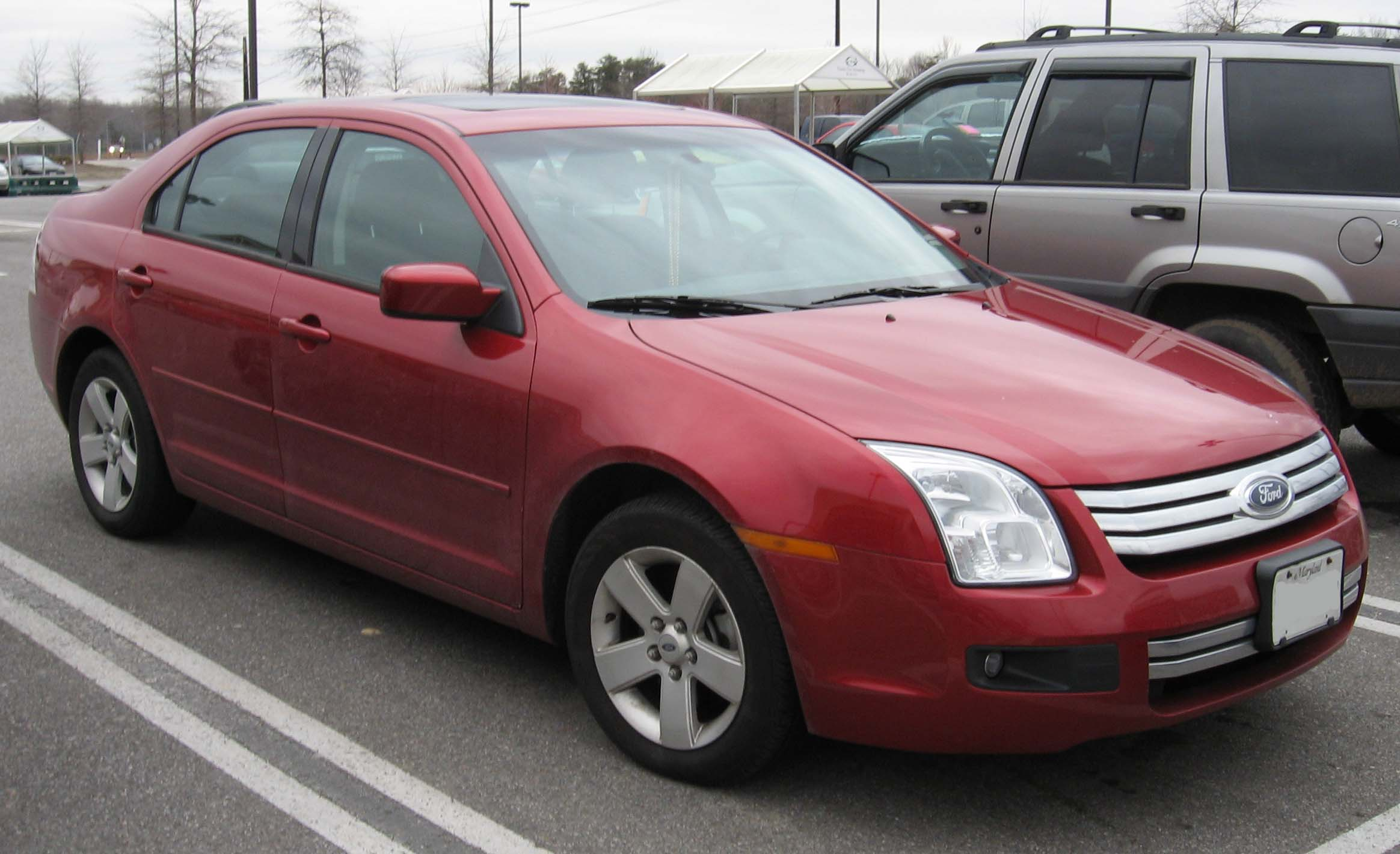 File 2006 2007 Ford Fusion 1 Jpg Wikimedia Commons