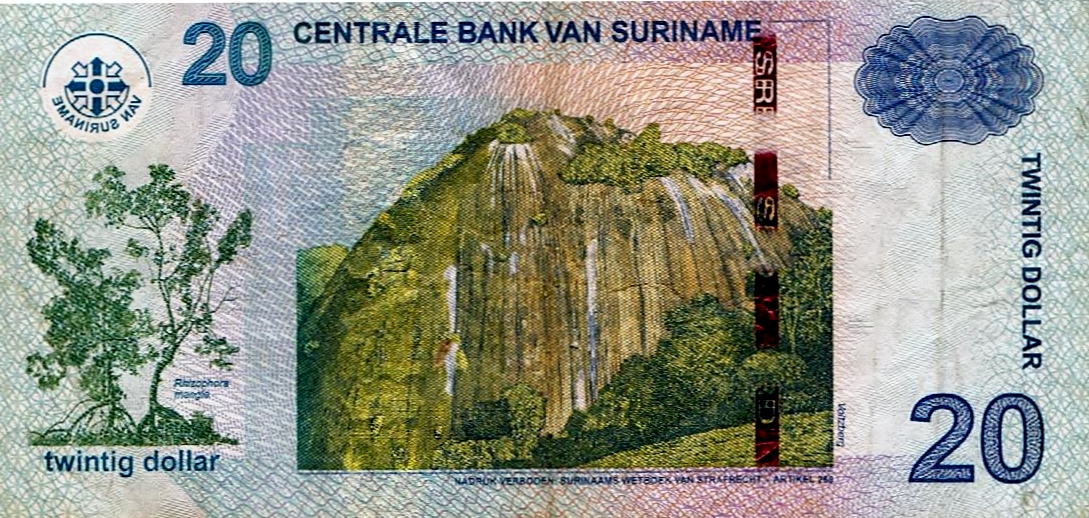 surinamese dollar - wikipedia
