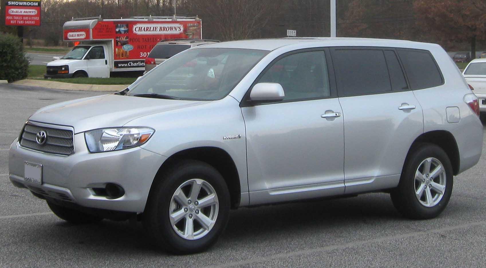 File:2nd Toyota Highlander Hybrid.jpg - Wikipedia, the free ...