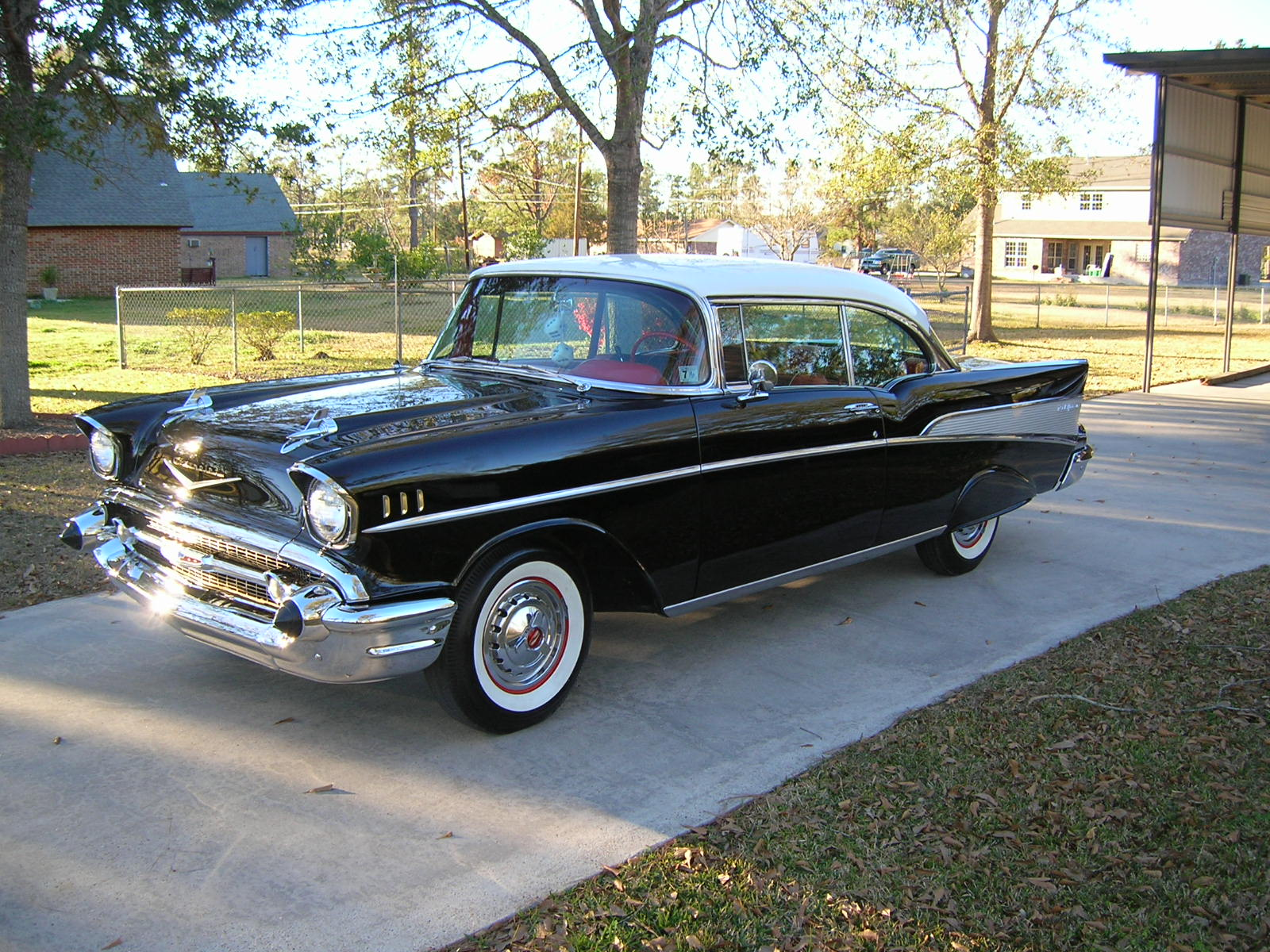 57 Chevy Bel Air 2 Door