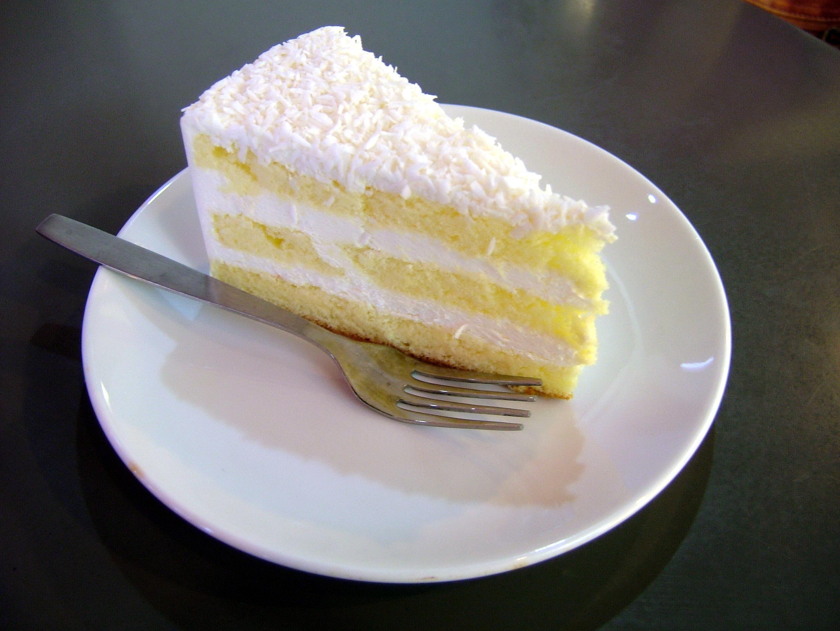 Vanilla Coconut Cake Recipe