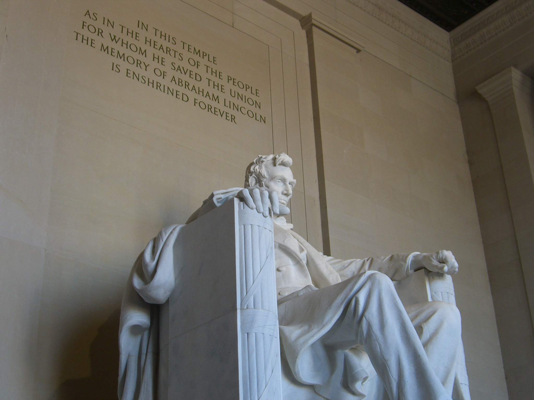 file:abraham lincoln memorial, washington dc - wikimedia commons