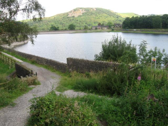 Across Ridgegate Reservoir towards Tegg's Nose - geograph.org.uk - 1413809