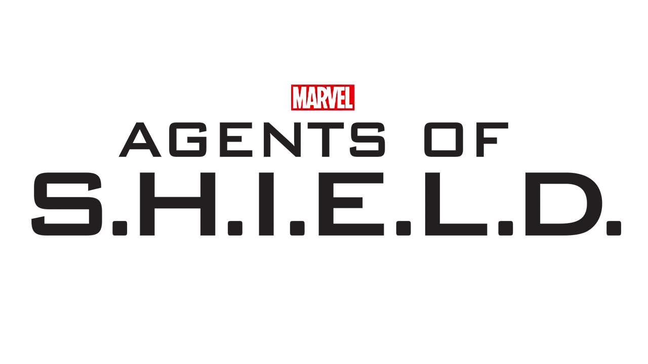 Agents Of SHIELD Typeface Logo