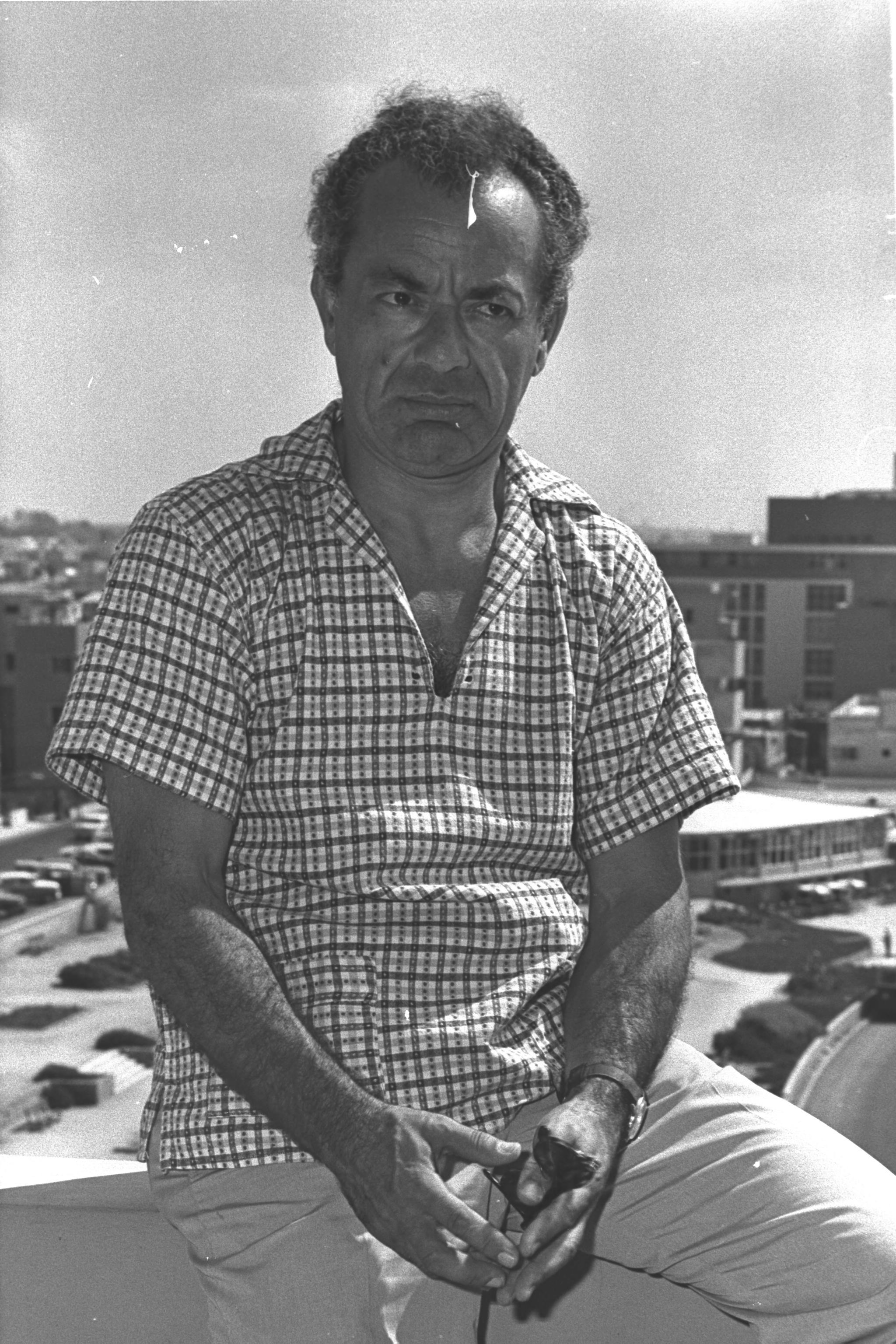 Alexander Schneider during a visit to Israel, 1961