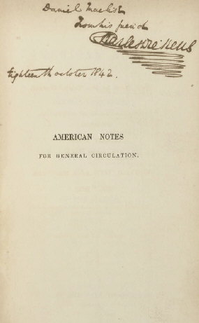 American Notes cover
