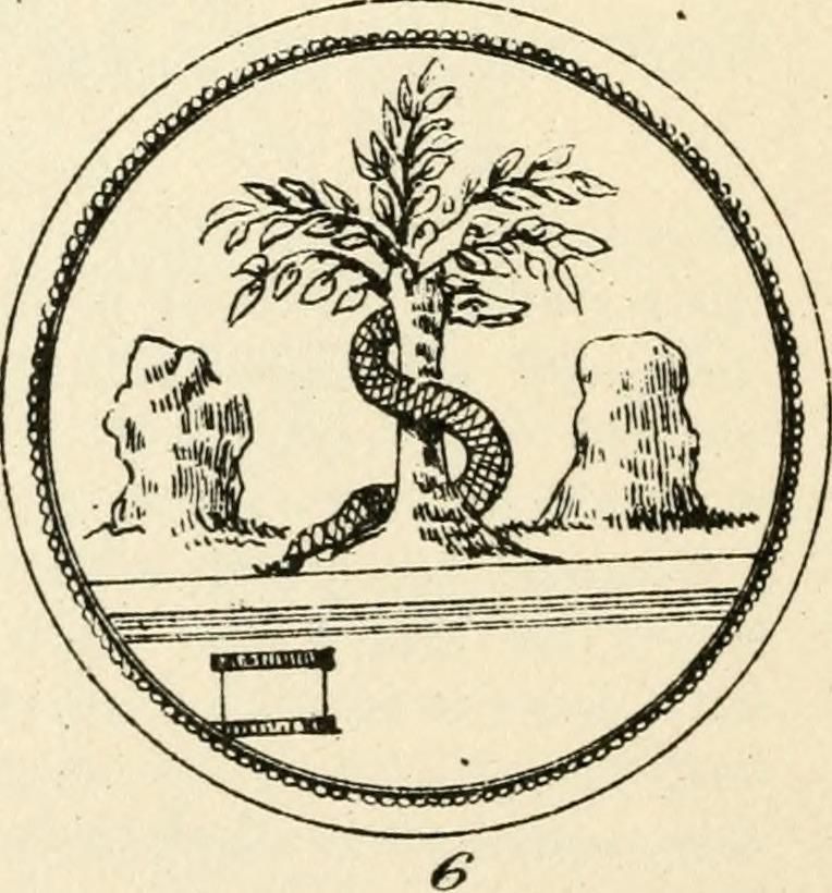 Modern Flowchart Symbols: Ancient pagan and modern Christian symbolism (1874 ,Chart