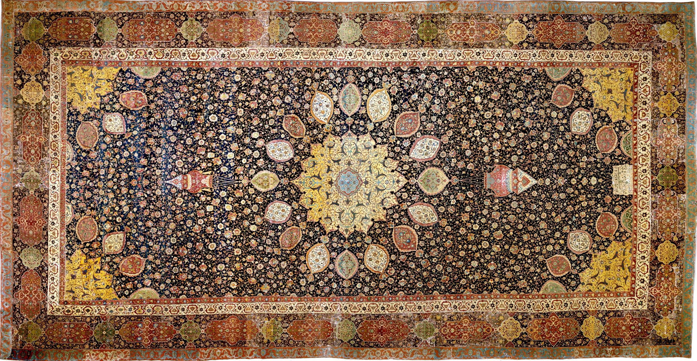 Tabriz Rug Wikipedia Karpet 250x350 Bcf Super Quality Style Ardabil Carpet Victoria And Albert Museum