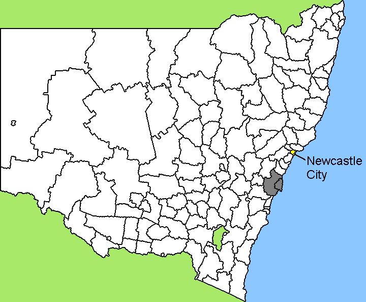 Australia Map Newcastle.File Australia Map Nsw Lga Newcastle Png Wikimedia Commons