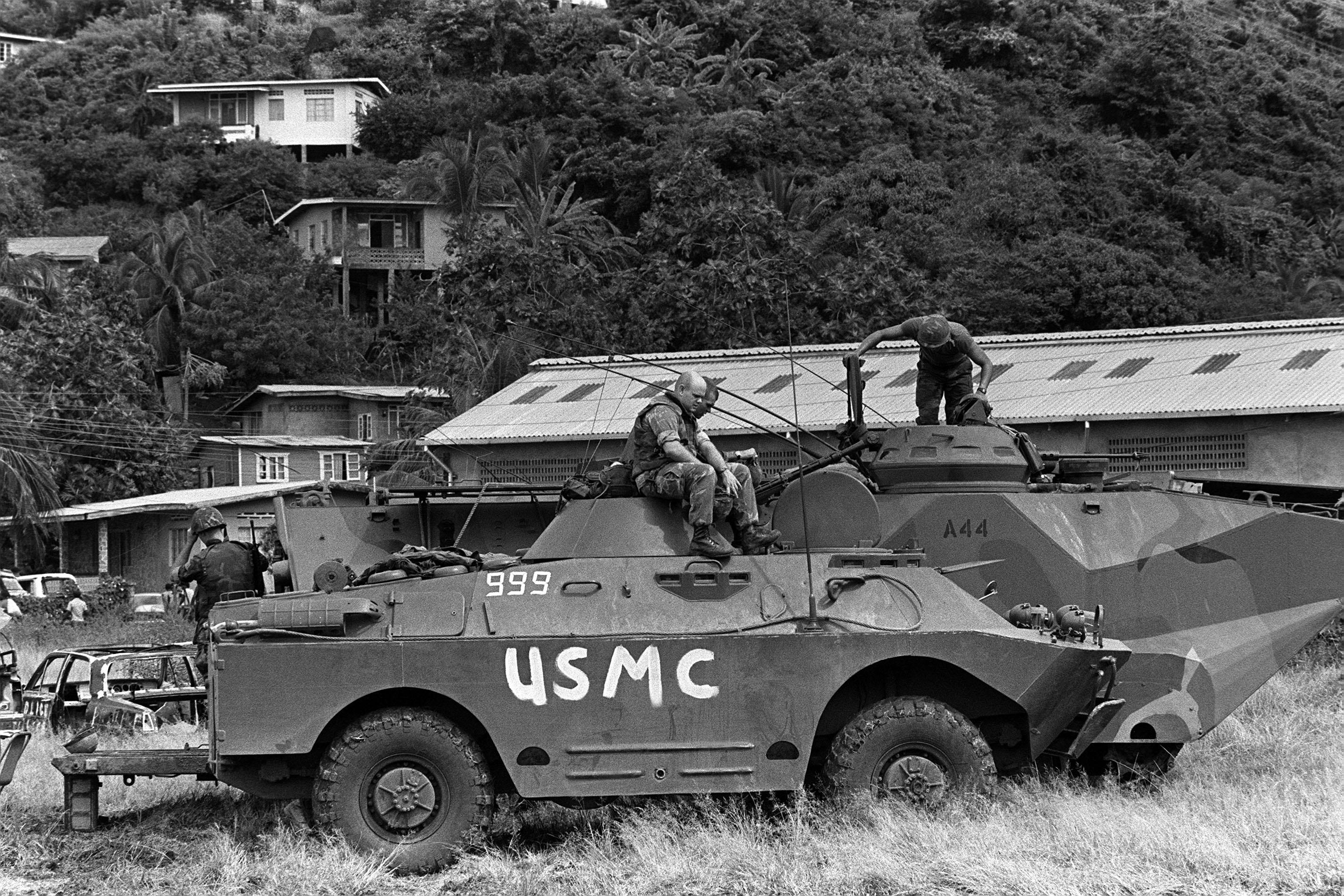 BRDM-2_during_Operation_Urgent_Fury.JPEG