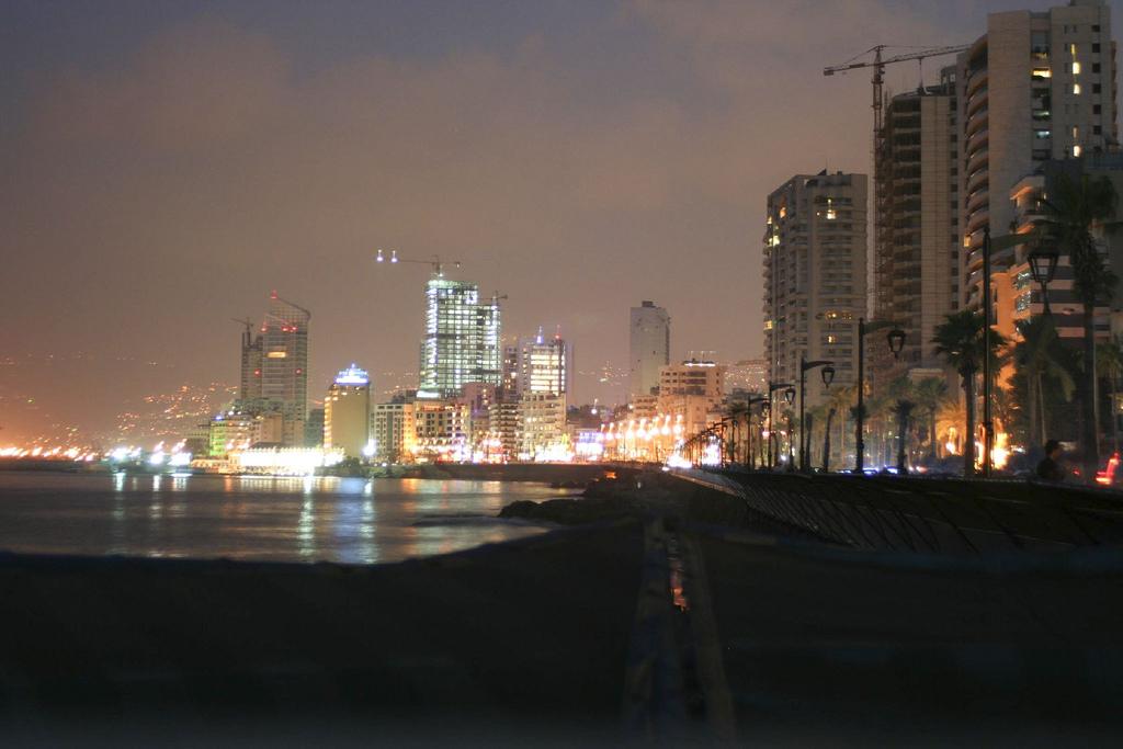 Beirut Rising Skyline