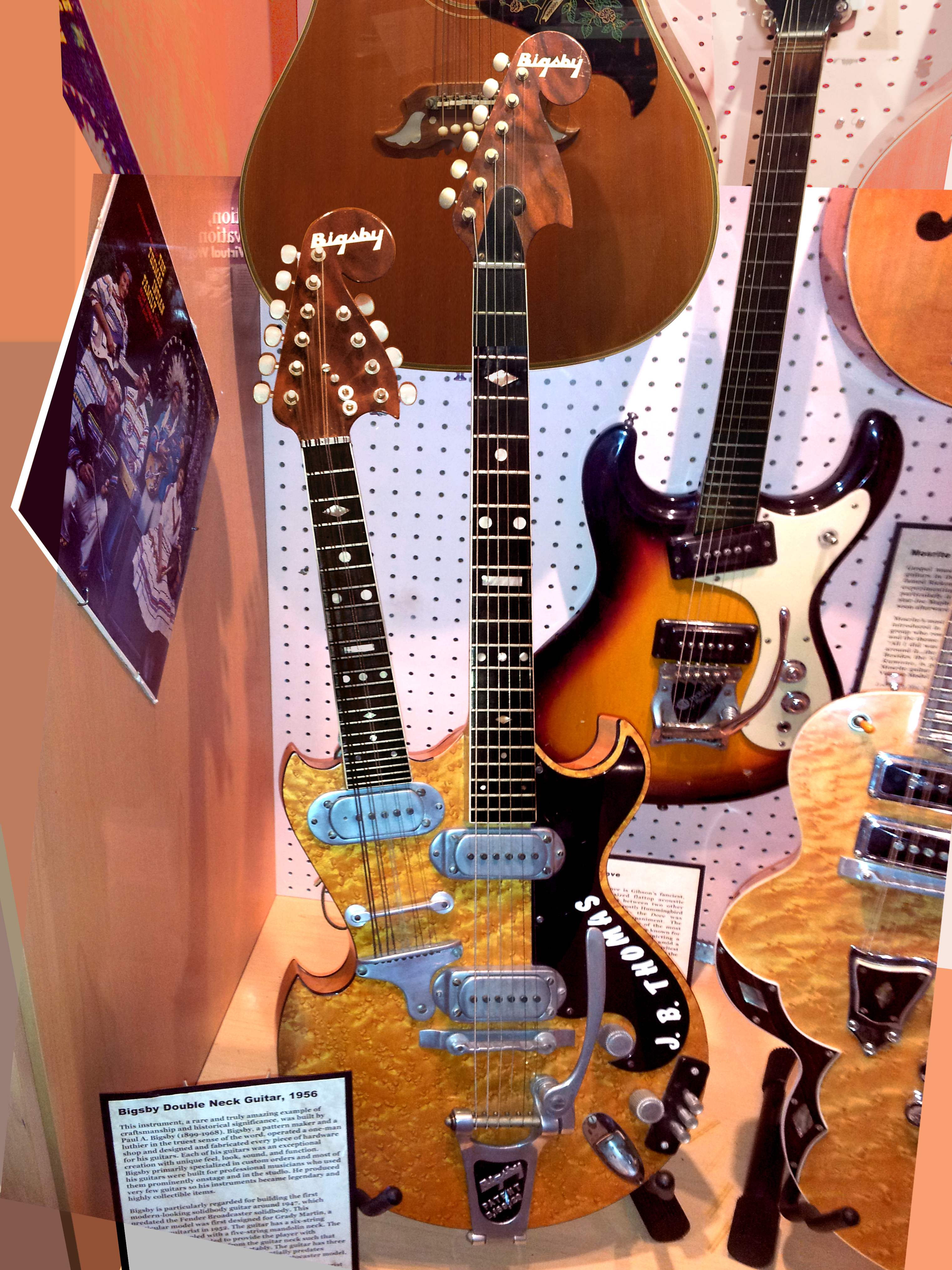 Mosrite Guitars History Guitar Wiring Diagram File Bigsby Double Neck Harvey 3042x4056