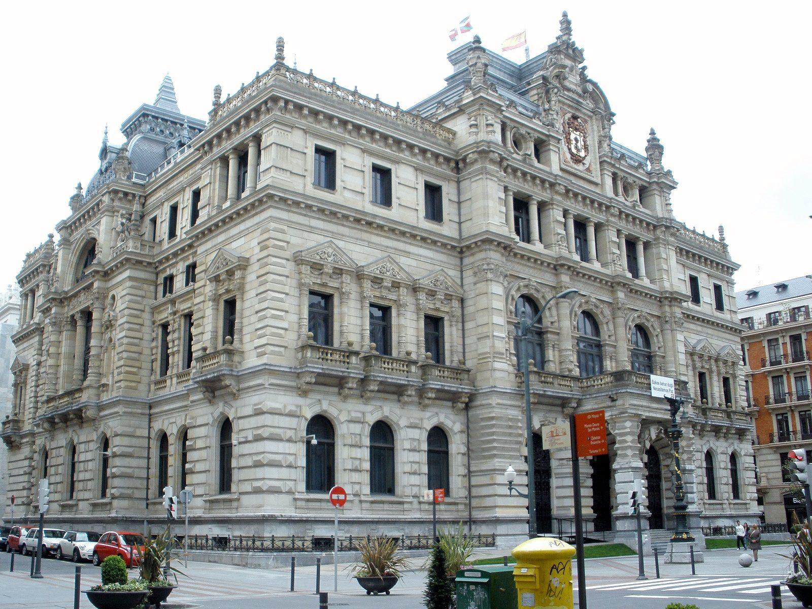 Palacio de la Diputación Foral de Vizcaya - Wikipedia, la ...