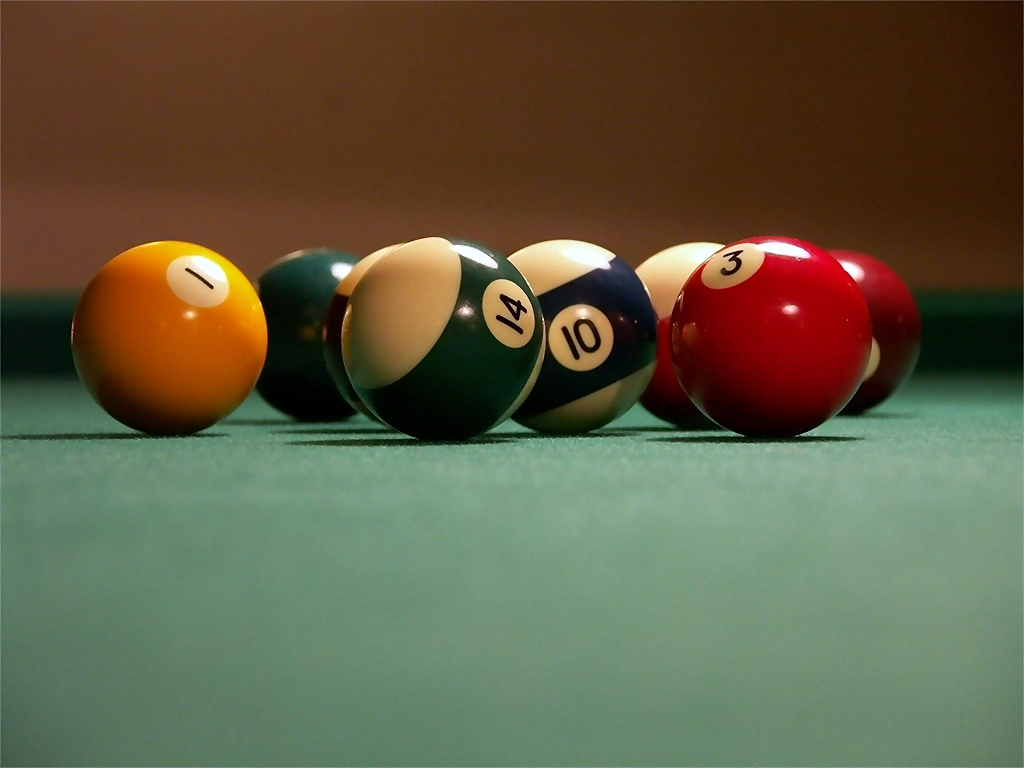 yellow the focus billiard balls shutterstock on royalty pool a in free stock ball photo table image