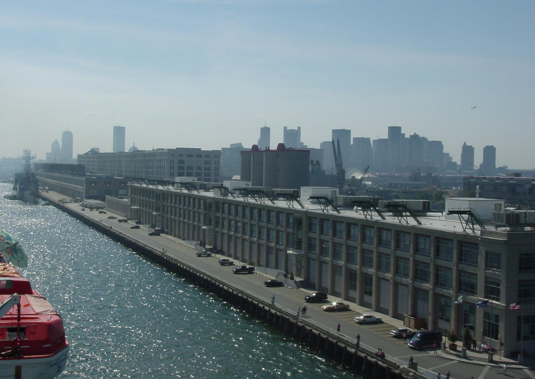 Cruise Ship Terminal Boston