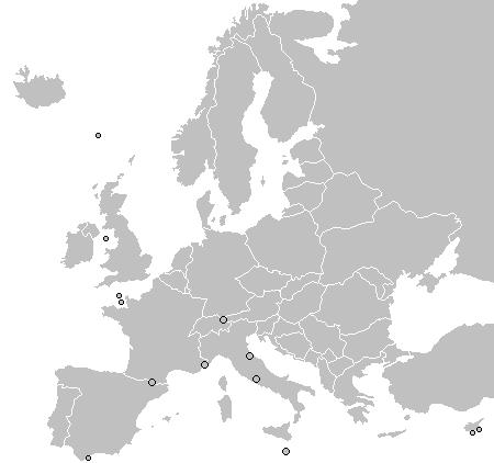 PlantillaMapa Poltico de Europa  Wikipedia la enciclopedia libre