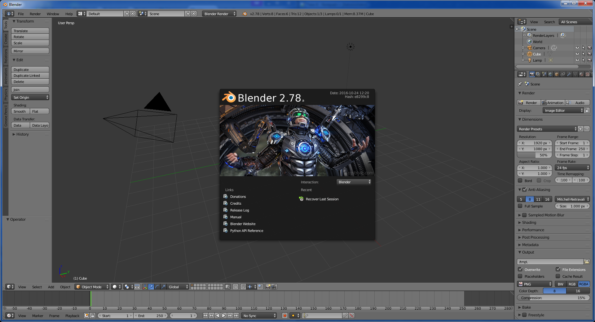 Blender wikidata Easy 3d modeling software