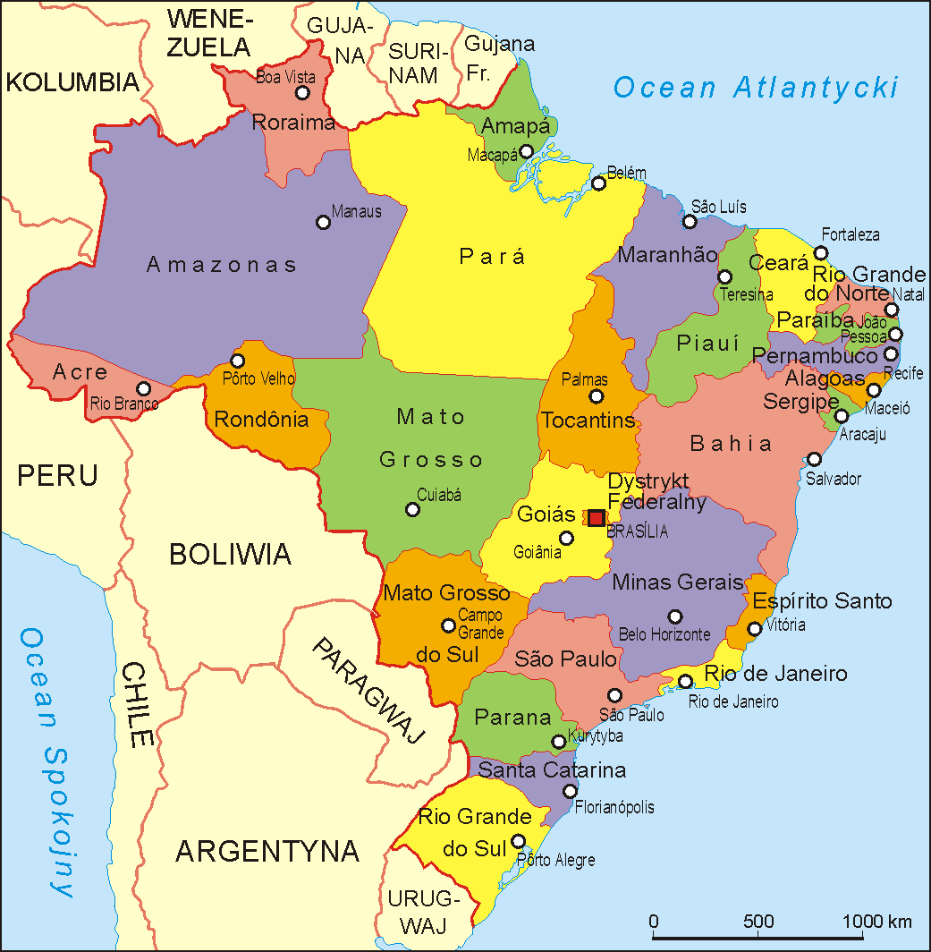 File Brasil Administrative Map Pl Png Wikimedia Commons
