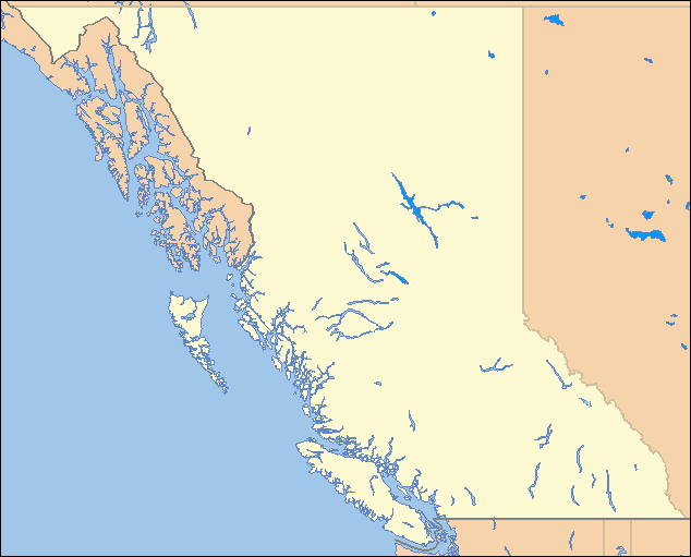 map of british columbia. File:British Columbia Locator