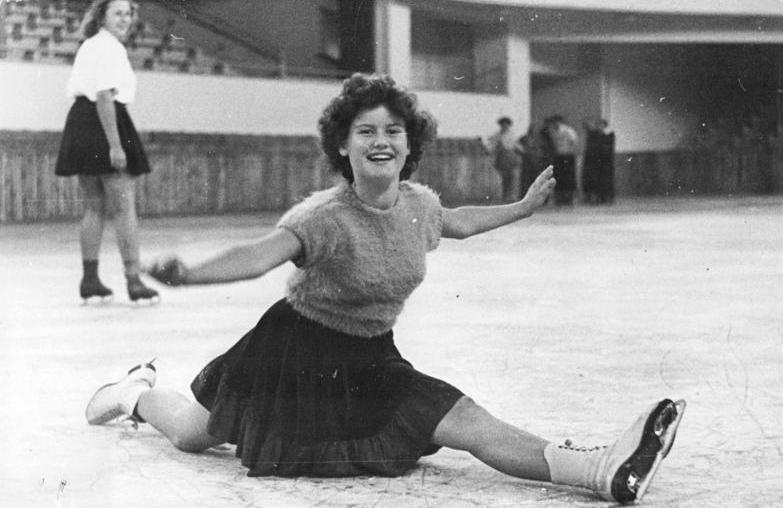 Ddr Eiskunstläuferin
