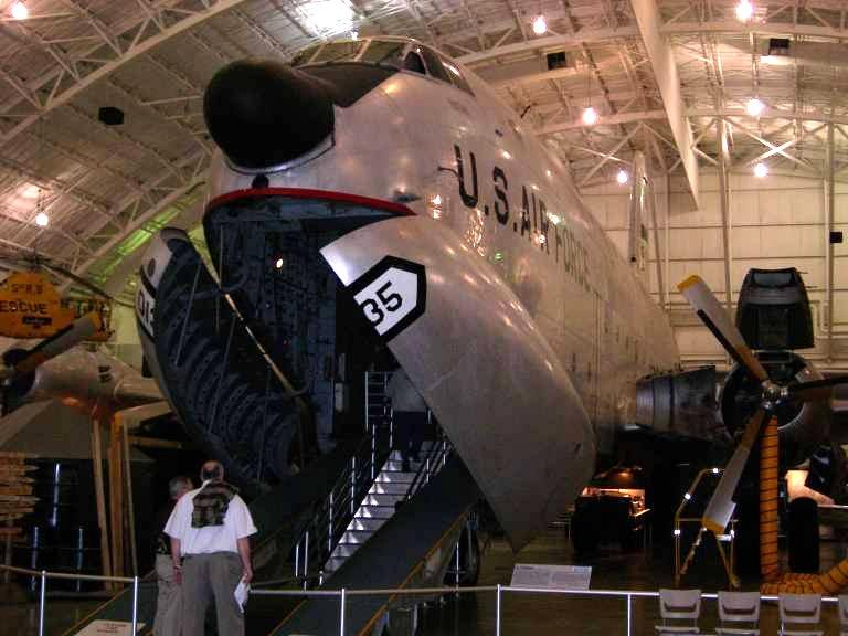 C-124 Globemaster II at the museum