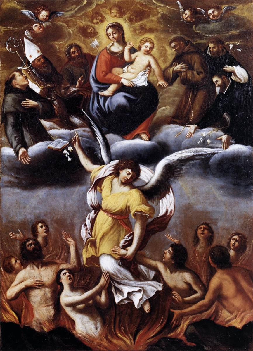 Chrystus w swoim miłosierdziu pozwala na dopełnienie pokuty po śmierci