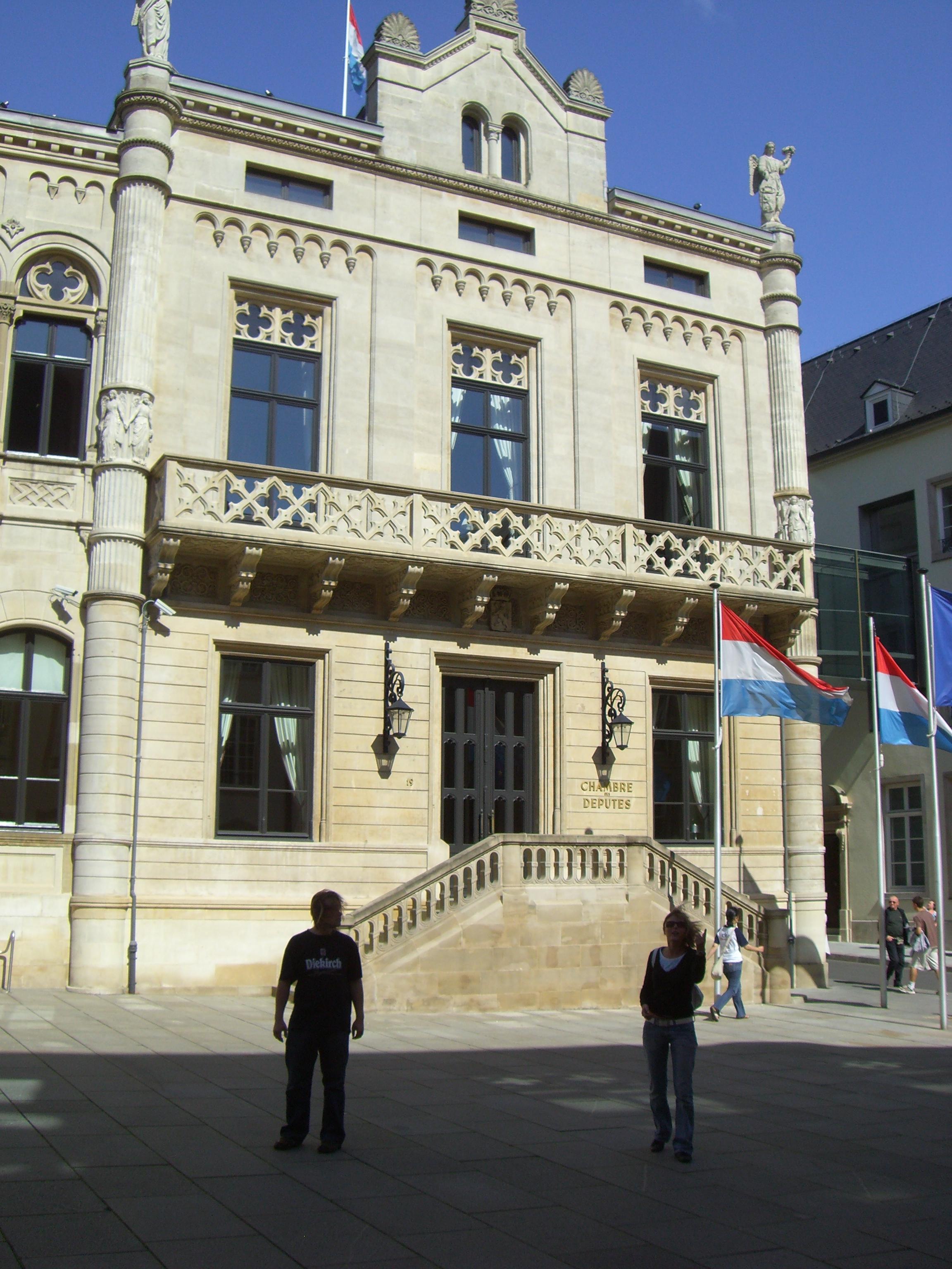 C mara de diputados de luxemburgo wikiwand for Camarade de chambre