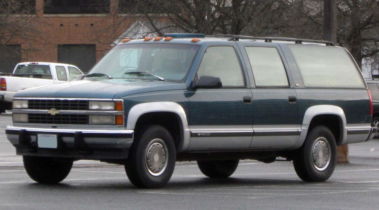 Chevrolet Suburban  Wikipedia