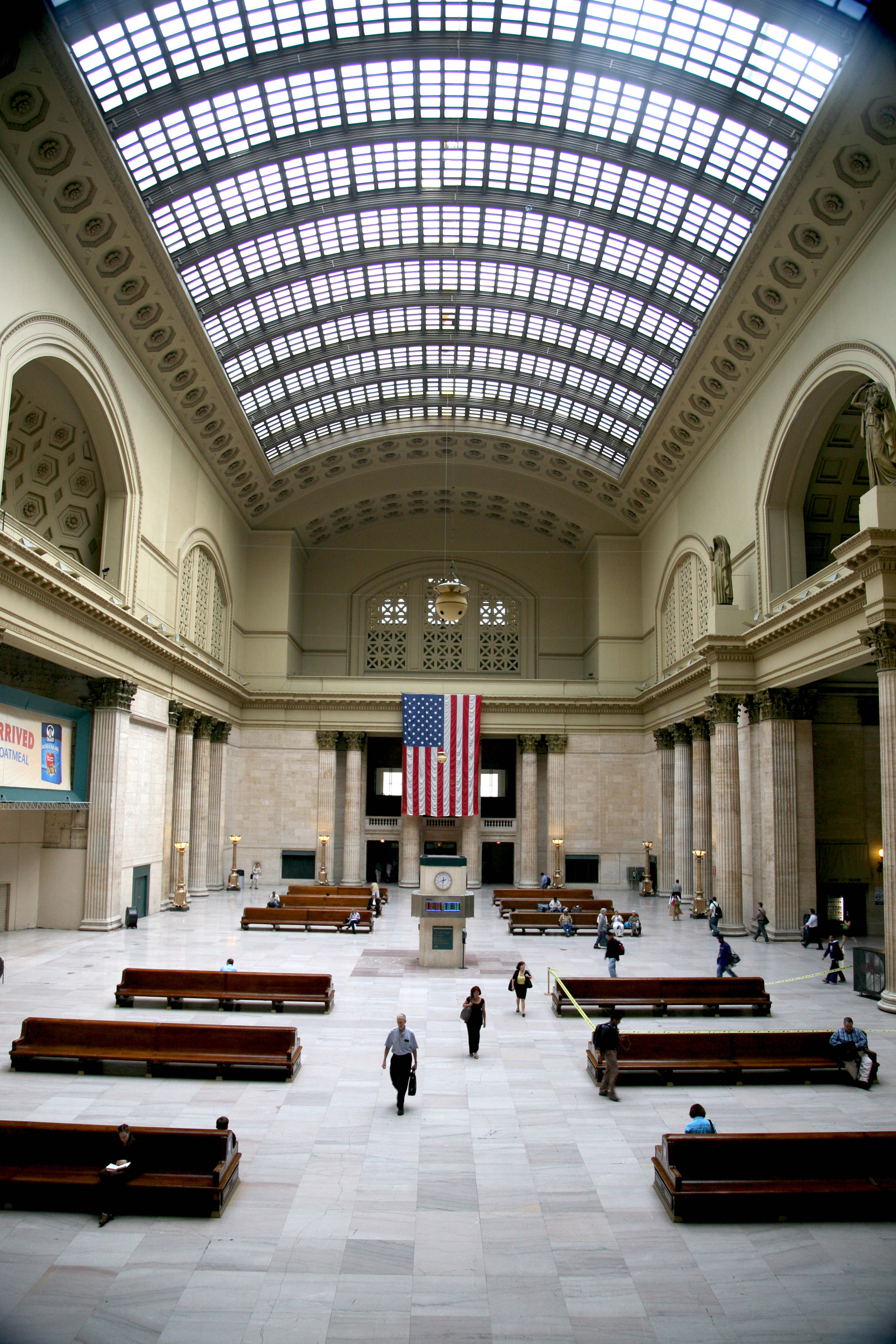 File Chicago Ill Union Station Great Hall 1925 Jpg