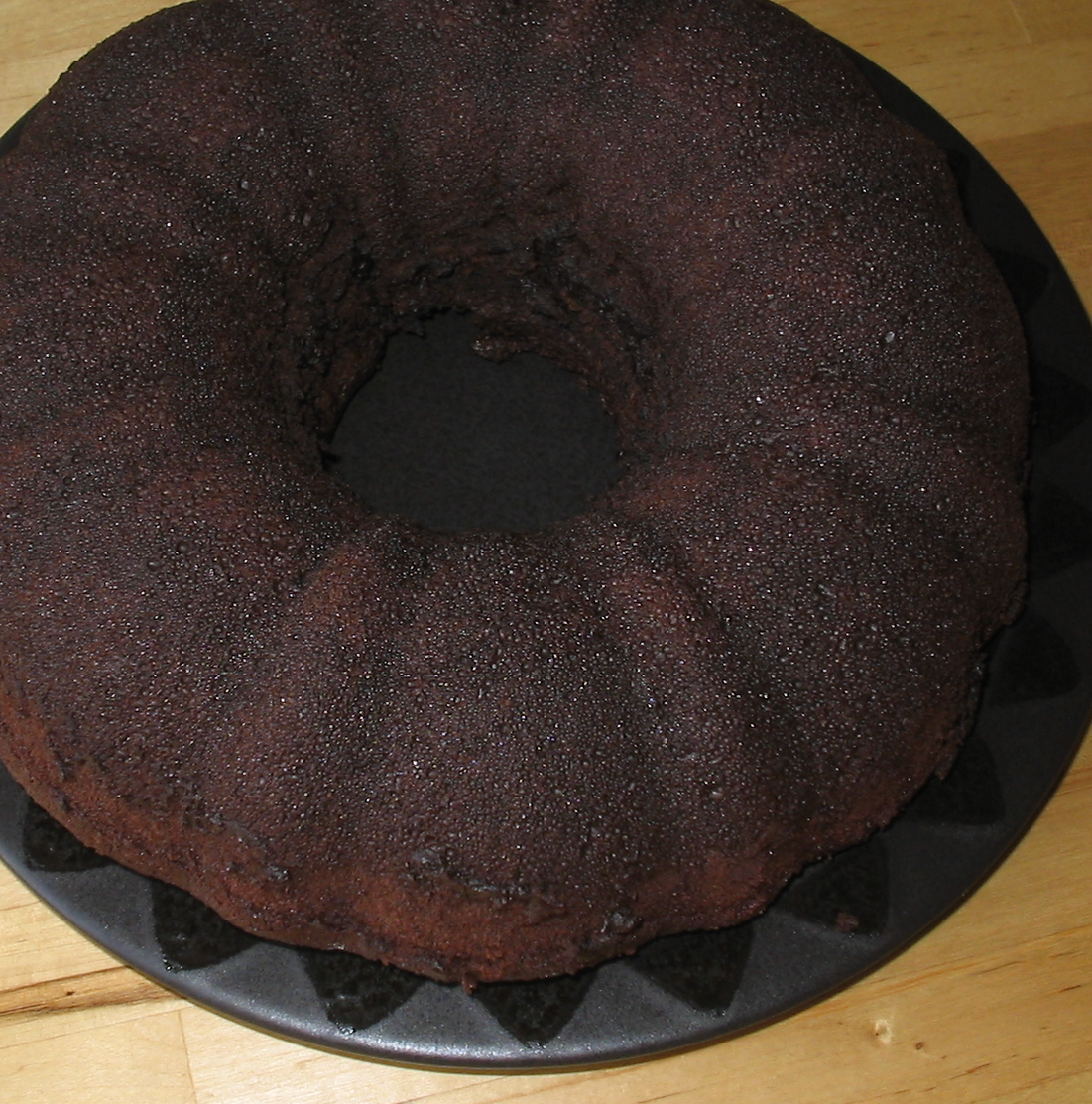 Chocolate Bundt Cake With Coffee Liqueur