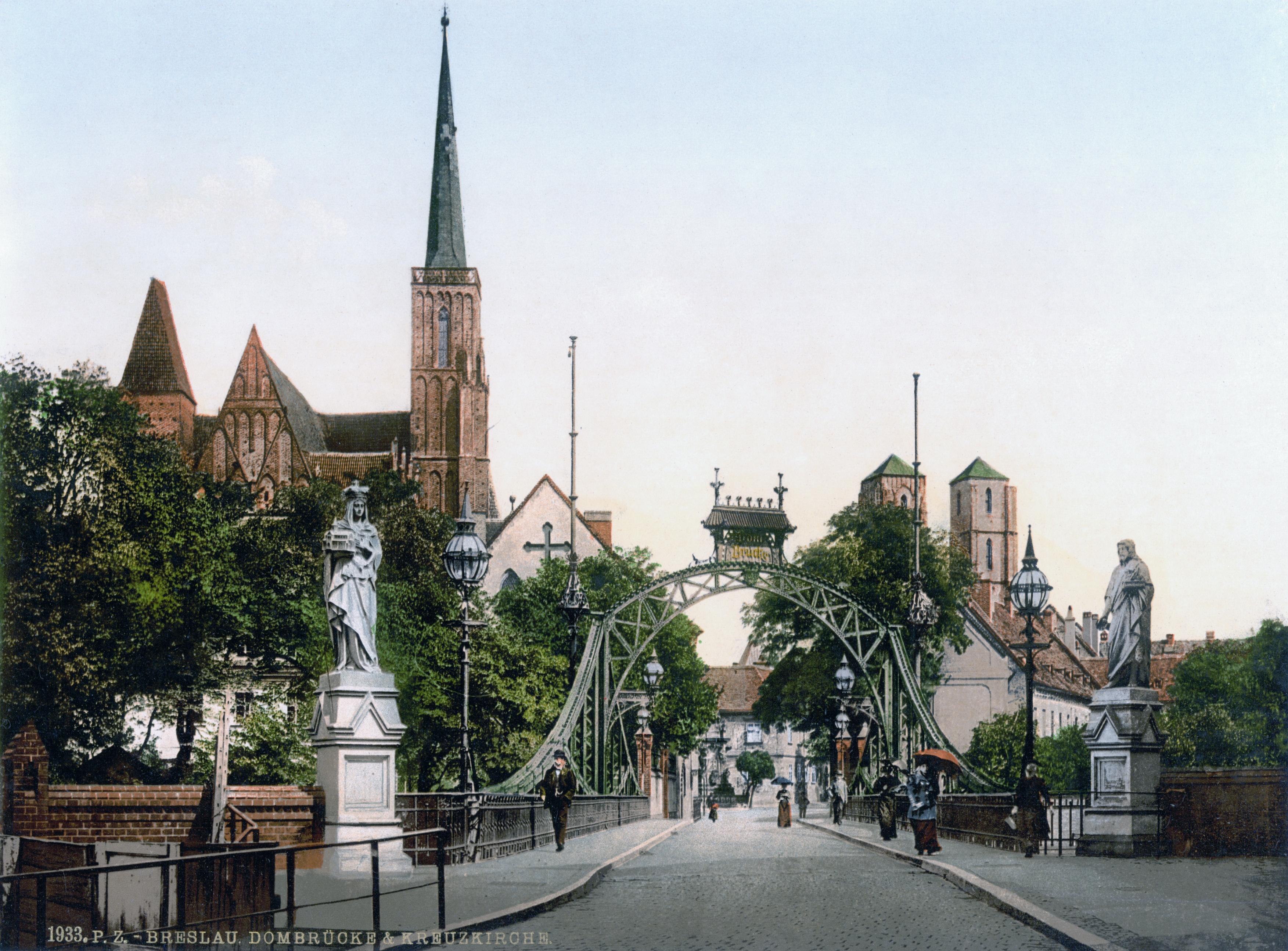 https://upload.wikimedia.org/wikipedia/commons/f/fe/Church_Bridge%2C_Breslau%2C_Silesia%2C_Germany.jpg