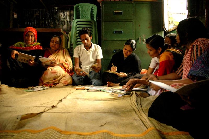 Community Box Library in Bangladesh, originally posted to Flickr as Community Box Library - Author bri vos