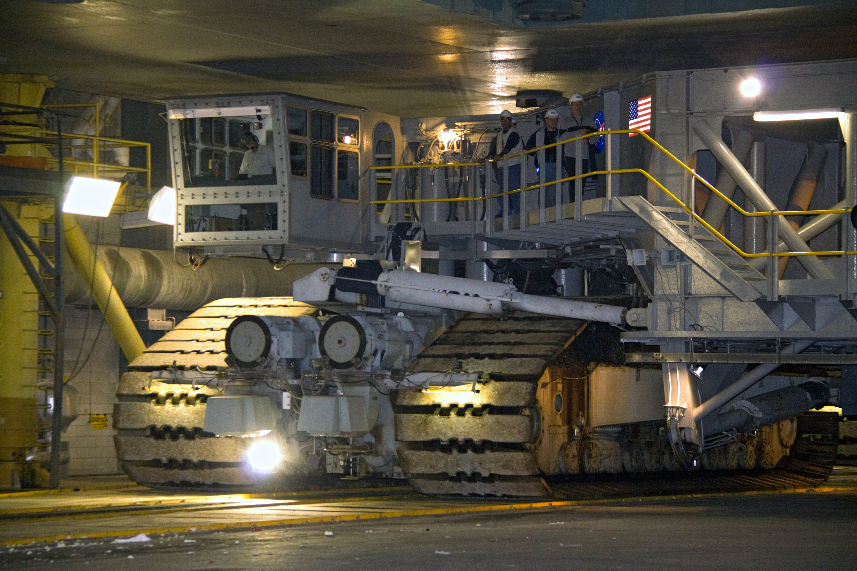 space shuttle transporter crawler cab-#7