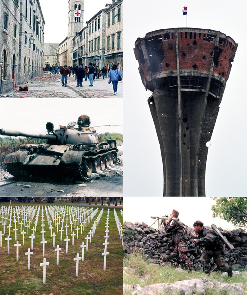 The Construction of Fear as the Primary Cause of War in the Former Yugoslavia.