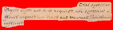 Pertinent part of the English Bill of Rights, December 1689 Cruel snippet red.JPG