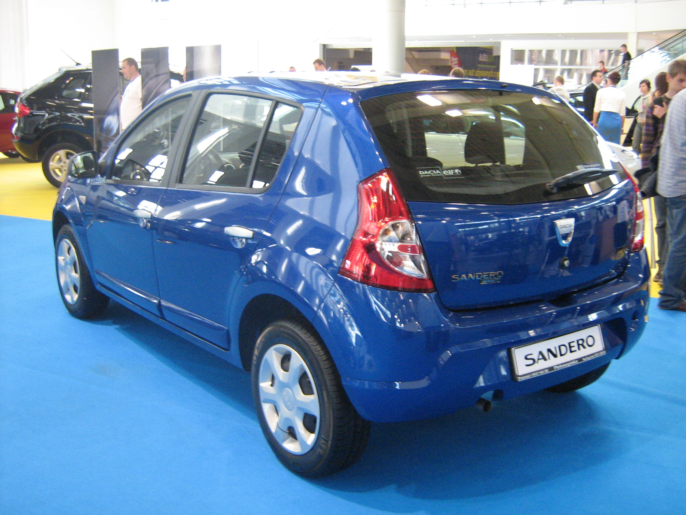 file dacia sandero rear psm wikimedia commons. Black Bedroom Furniture Sets. Home Design Ideas