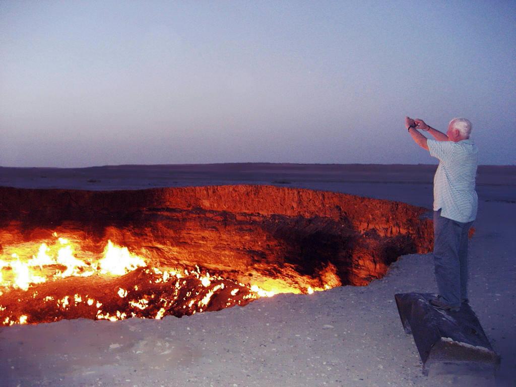 Darvaza Gas Crater Tour