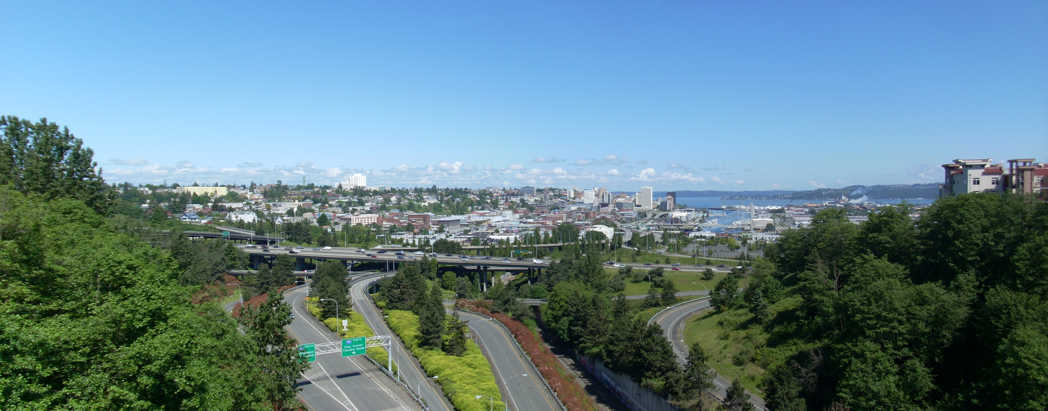 Downtown, Tacoma, Washington