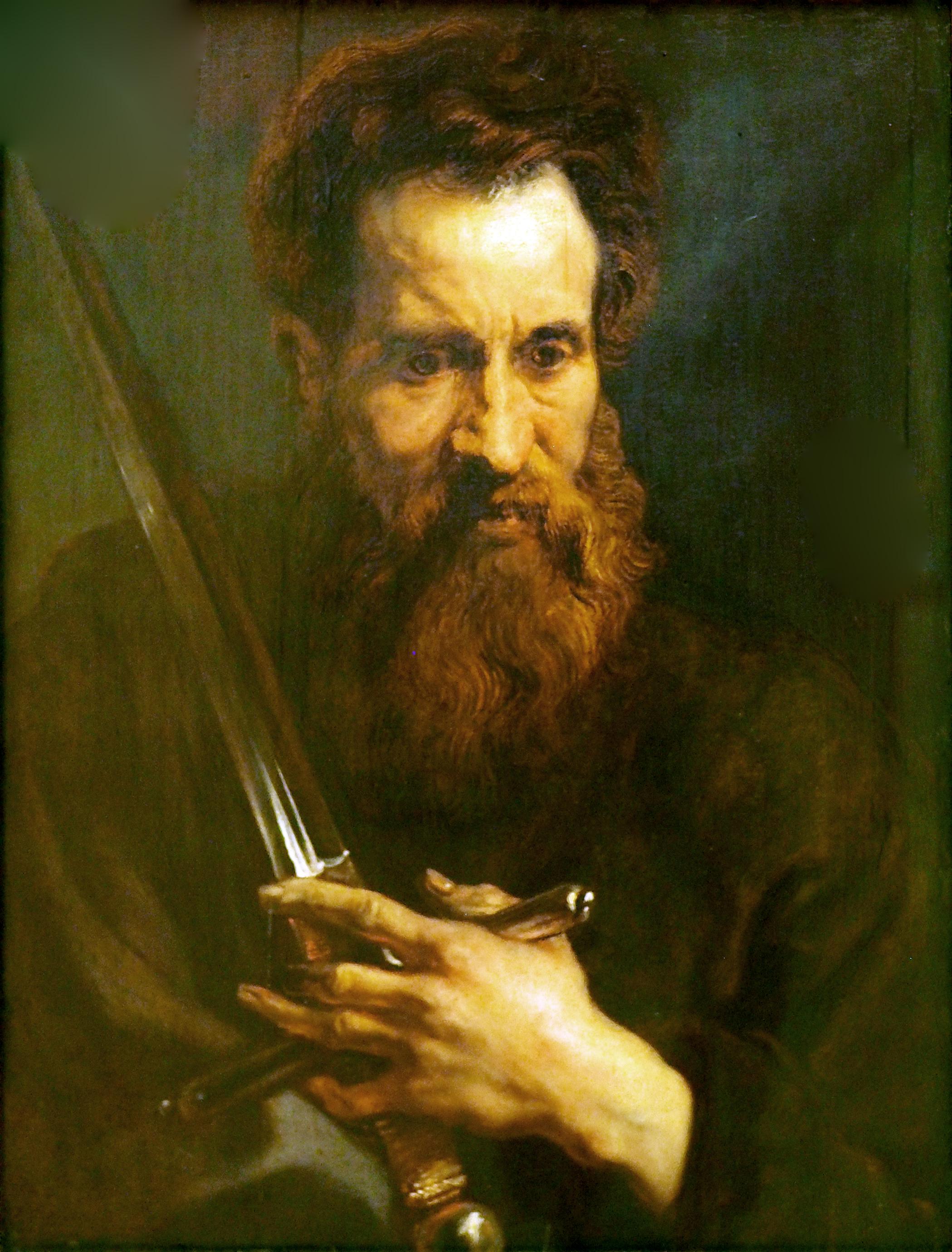 apostel paulus gemlde von anthonis van dyck etwa 16181620 - Paulus Lebenslauf