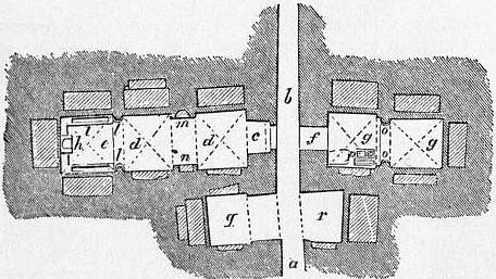 EB1911 Catacomb - Fig. 13.—Plan of a supposed Church, Catacomb of Sant' Agnese.jpg