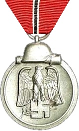 "Over three million German and Axis personnel were awarded the Eastern Front Medal for service during 15 November 1941 – 15 April 1942. It was nicknamed the Gefrierfleischorden – ""frozen meat-medal"".[101]"