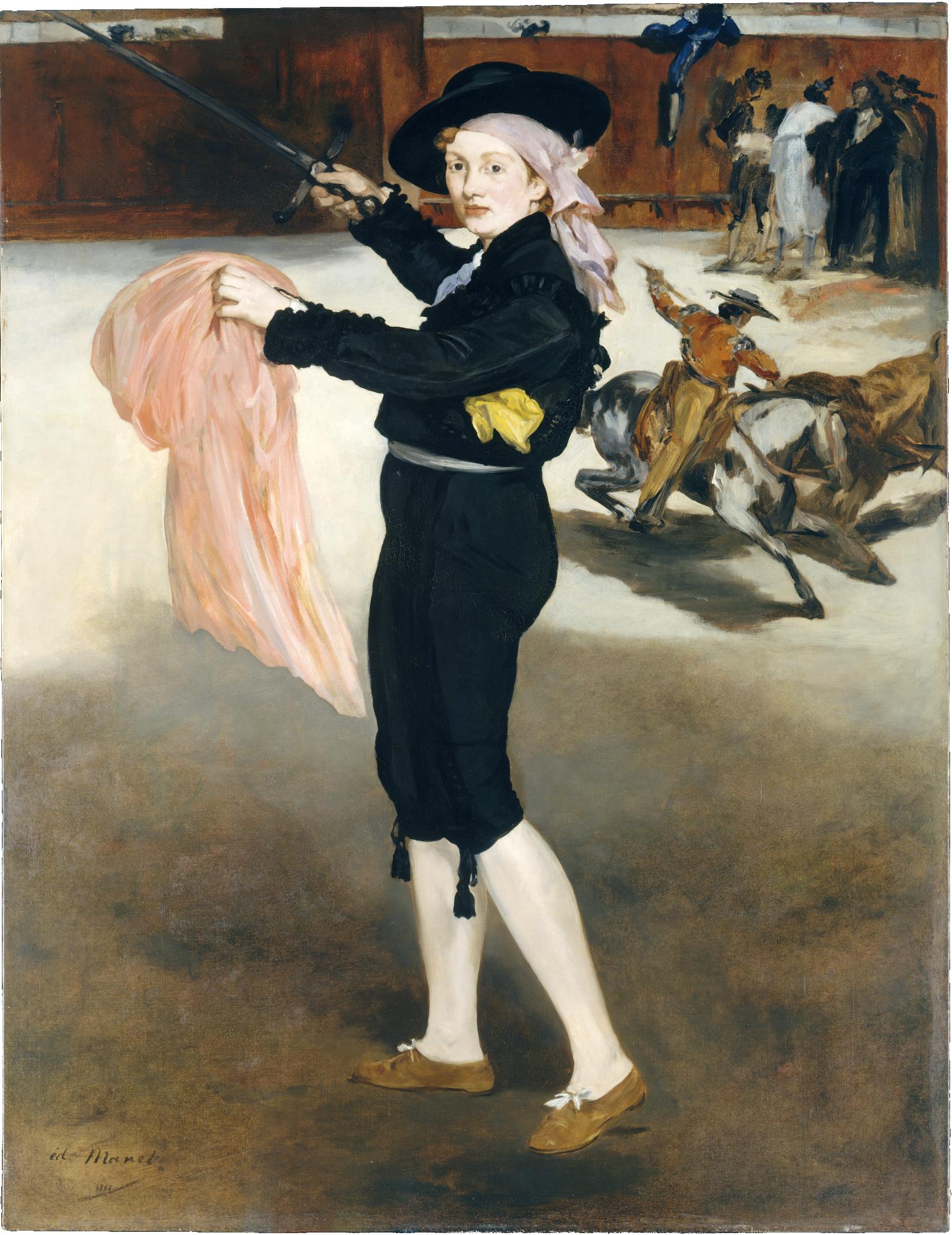 Victorine Matador Kıyafetleri İçinde