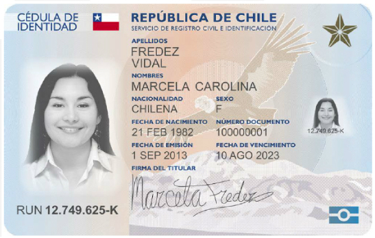 Cedula De Identidad Chile Wikipedia La Enciclopedia Libre