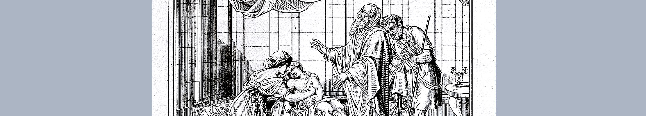 Елисей и Сонамитянка.