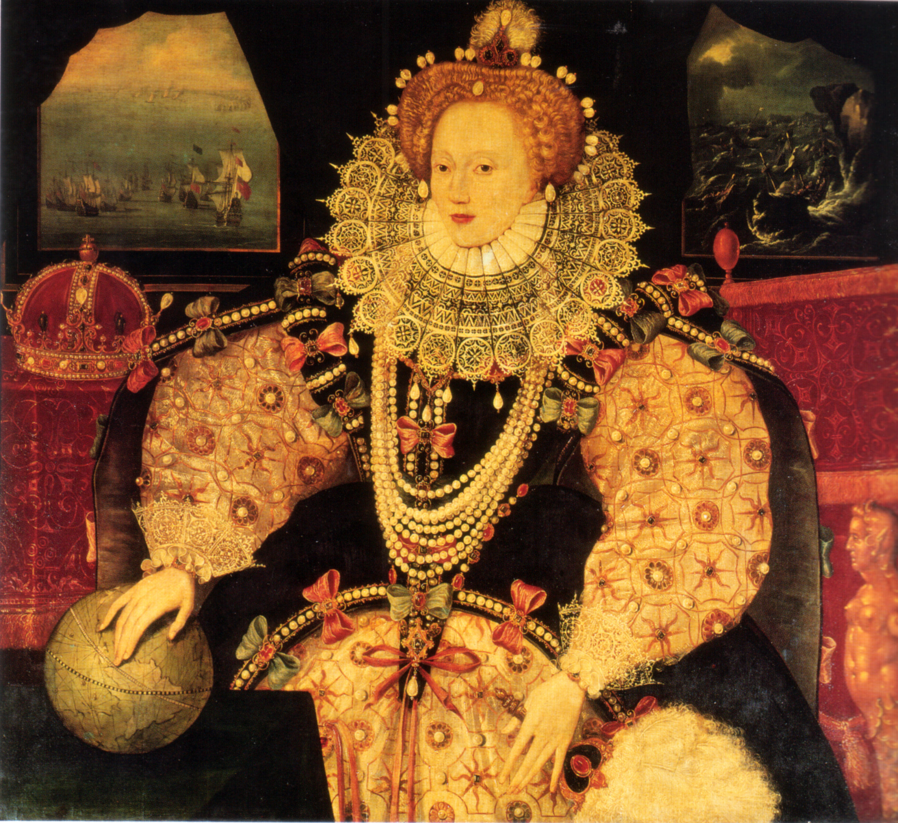 Analysis of queen elizabeth armada portrait